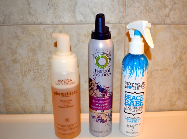 Great hair products for curly or wavy hair