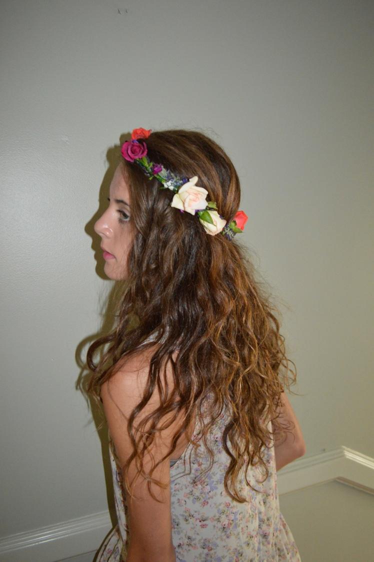 Fresh, Natural, Nature, Flowers, Crown, Princess, Indie
