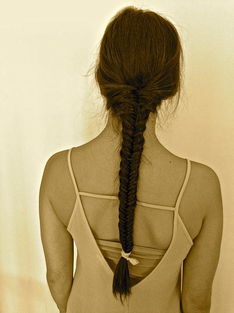 xoxo to the fishtail braid